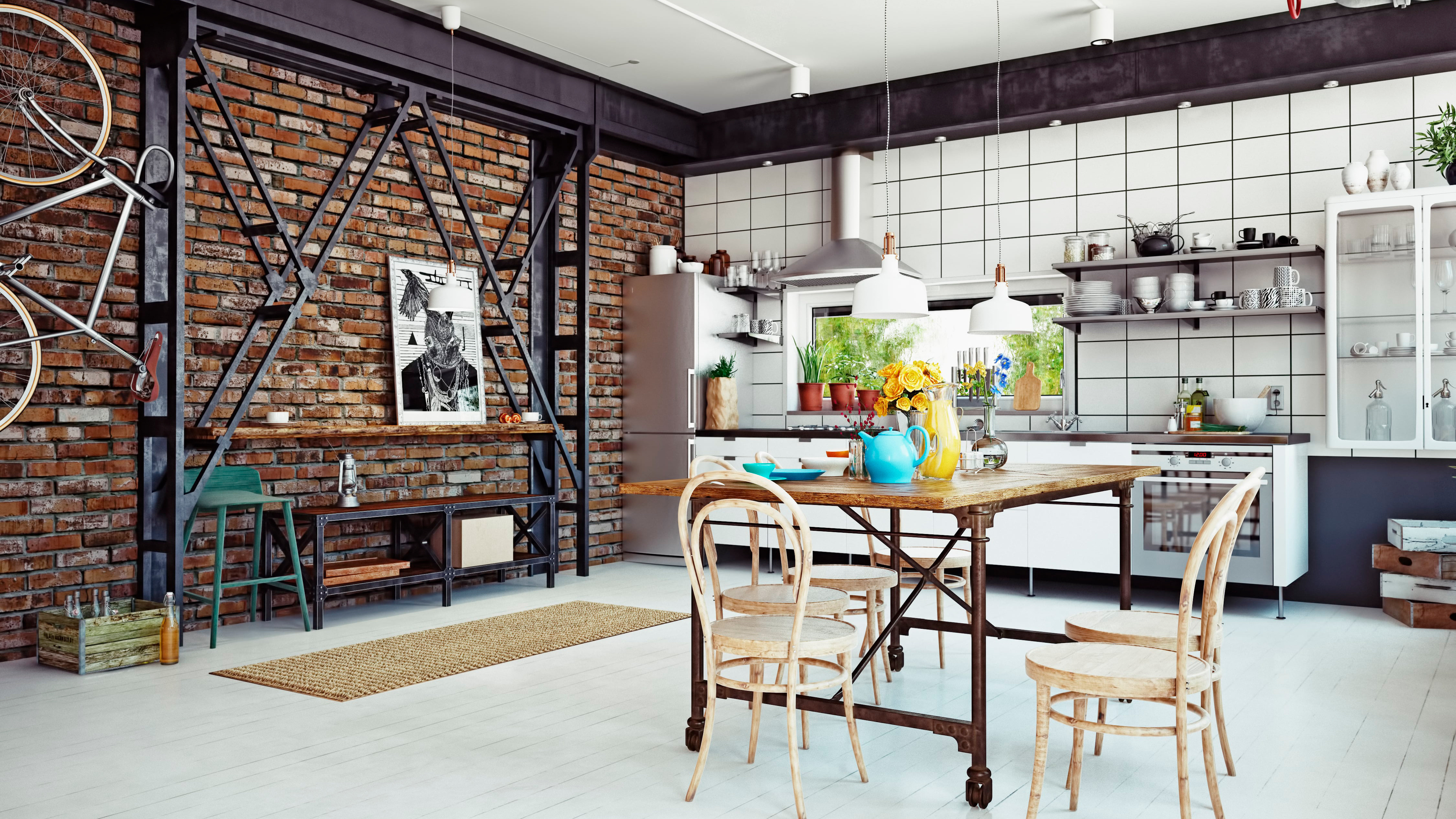 Gentil However, Decorating The Interiors Of An Apartment Using Loft Style  Architecture Can Be A Challenge To Many.
