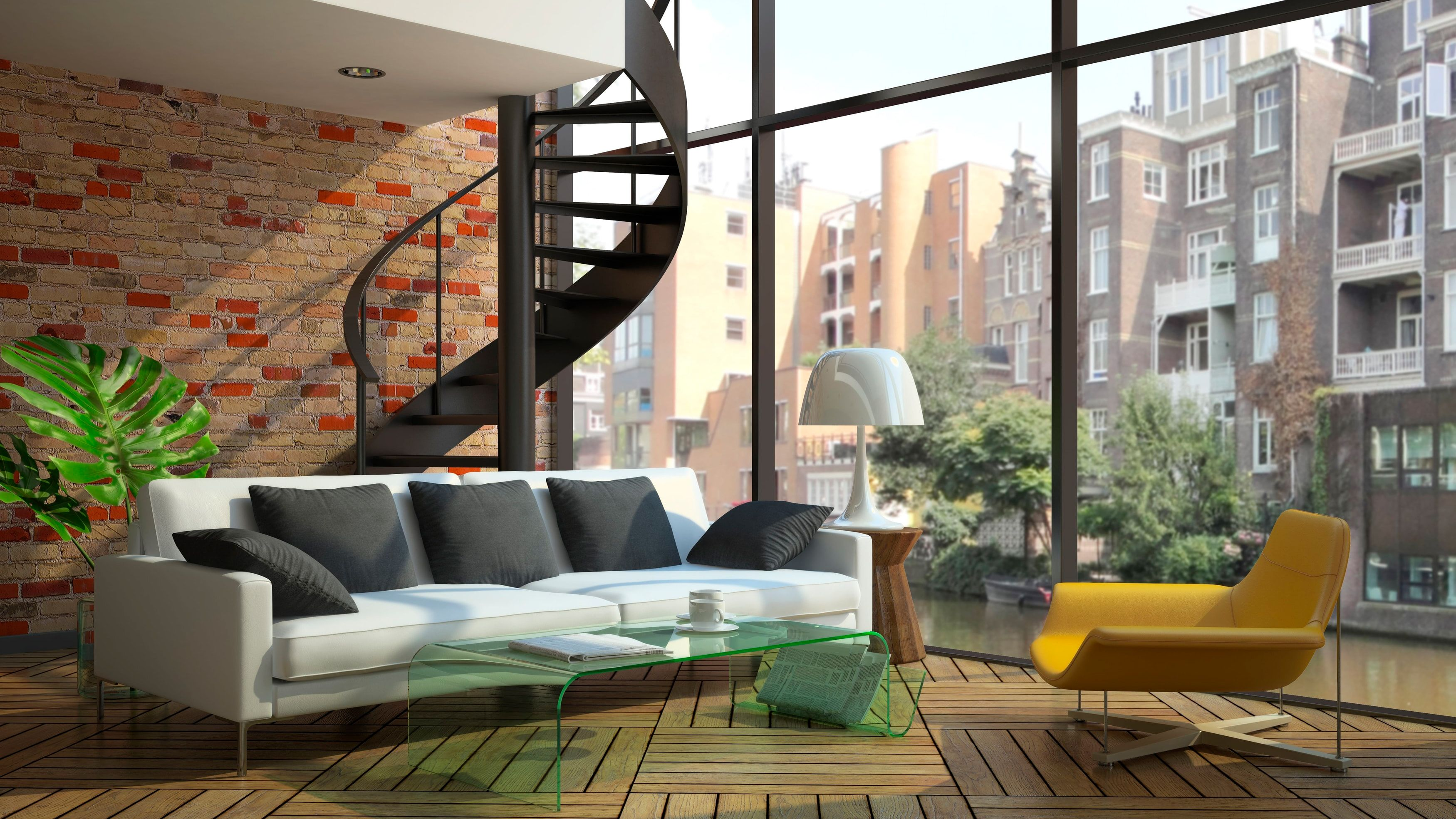 Eclectic Yet Minimal: Loft Spaces Are Known For The Ample Airy White Space  Available. Thus, Loft Style Furniture Must Be Picked Out Such That It Does  Not ...