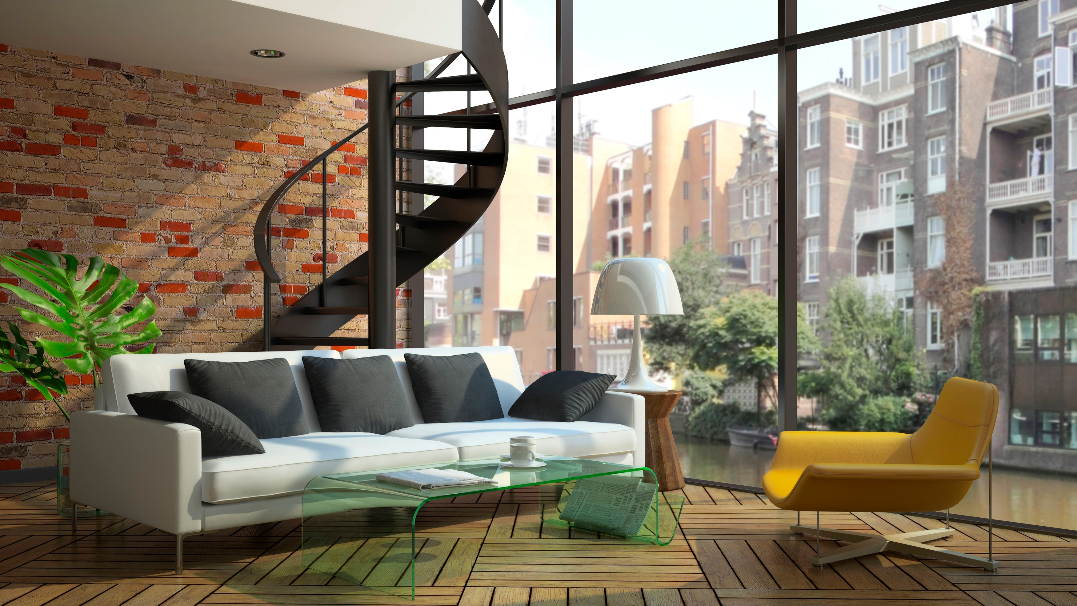 Eclectic Yet Minimal Loft Es Are Known For The Ample Airy White E Available Thus Style Furniture Must Be Picked Out Such That It Does Not